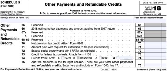 The New Form 1040 – Lindsay's Tax Advisory